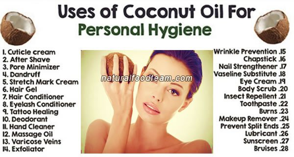 Coconut Oil for Personal Hygiene