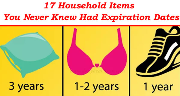 17 Household Items You Never Knew Had Expiration Dates