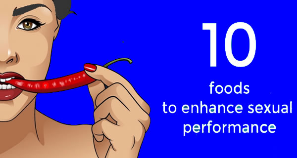 Top 10 foods to enhance sexual performance