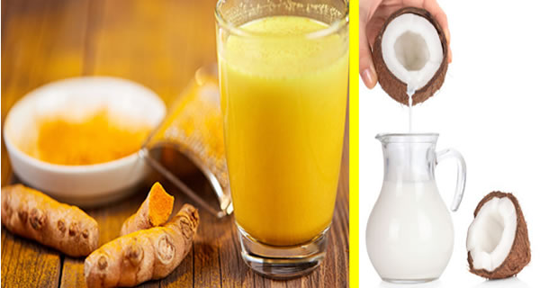 Coconut Milk and Turmeric: Make You Fall Asleep Fast, Relieve Pain and Inflammation, Reduce cholesterol